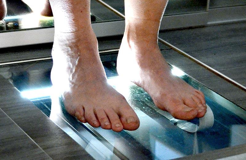 Der Fuß als Basis für die Gesundheit